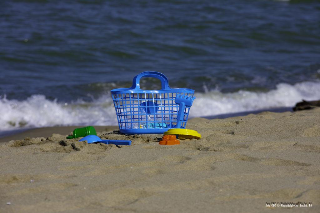 Giochi in riva al mare