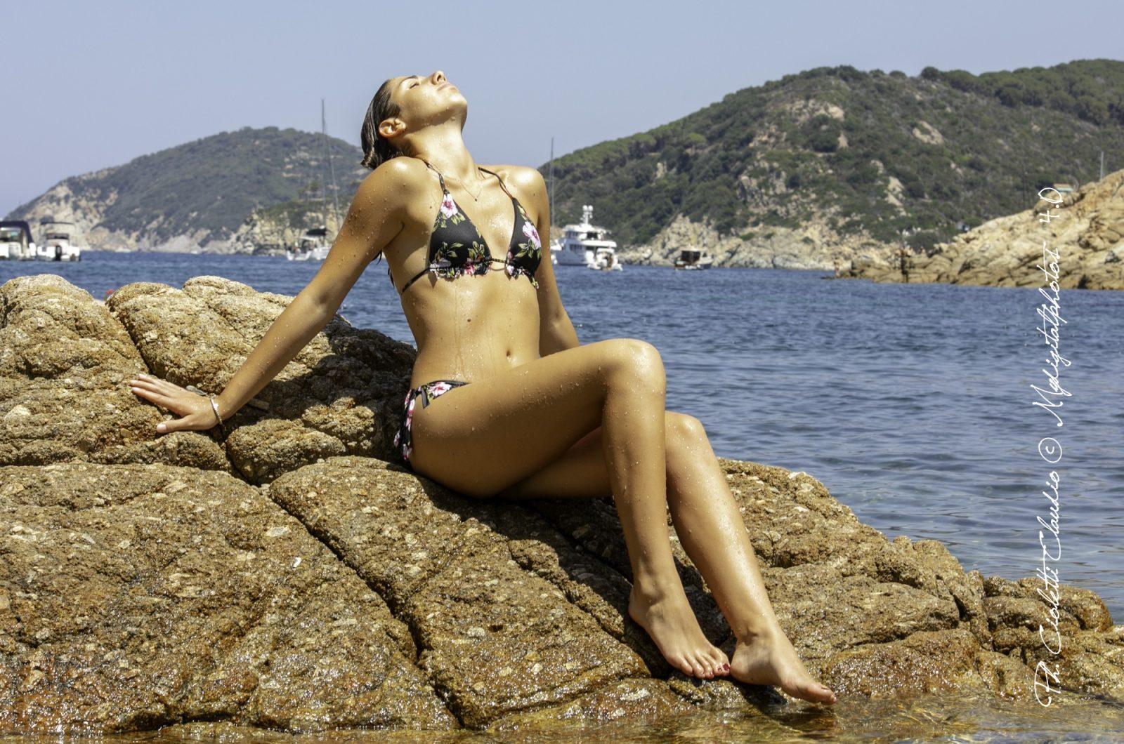 "Photoshoot Isola D'Elba Modella ""Linda R."""