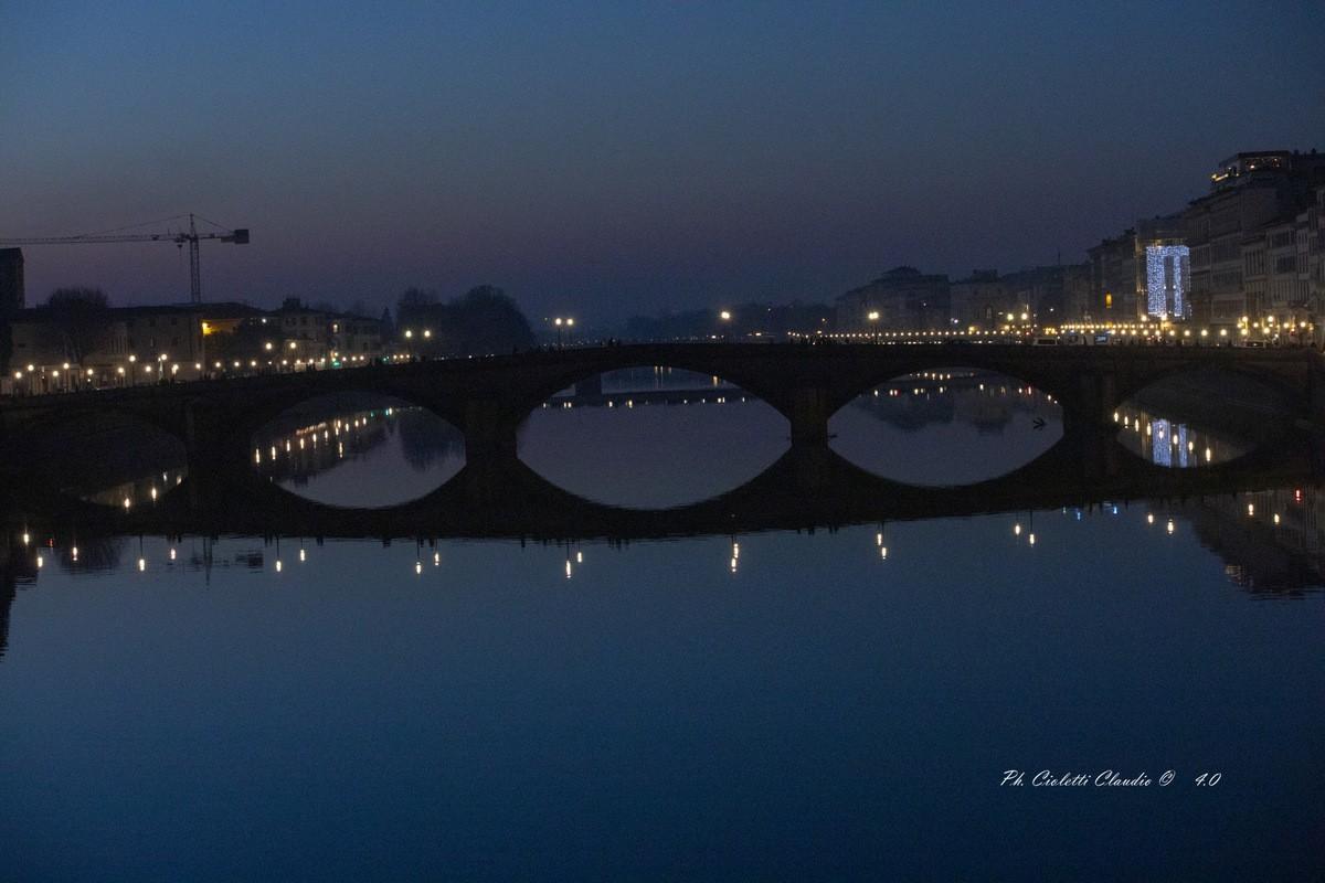 """Il Fascino di Firenze """"Ponte Alla Carraia"""""""