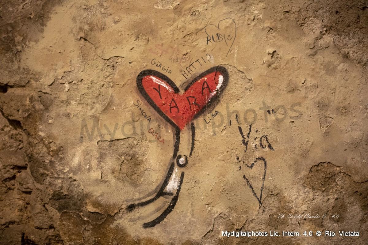 L'amore appeso al Cuore di ……..