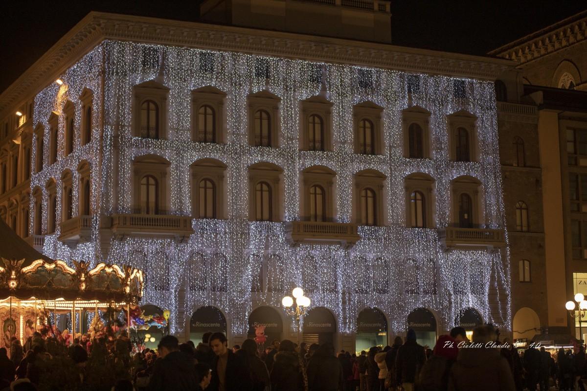 """L'atmosfera del Natale  """"Firenze"""""""