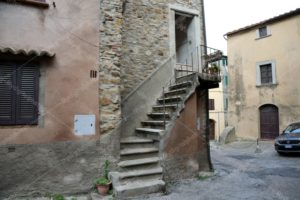 scala ingresso casa Castagneto Carducci