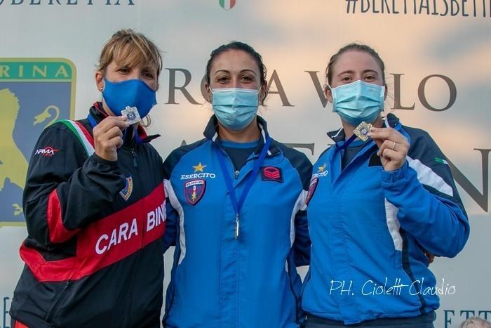 CAMPIONATI ITALIANI TIRO A VOLO SKEET ISSF LATERINA,AREZZO